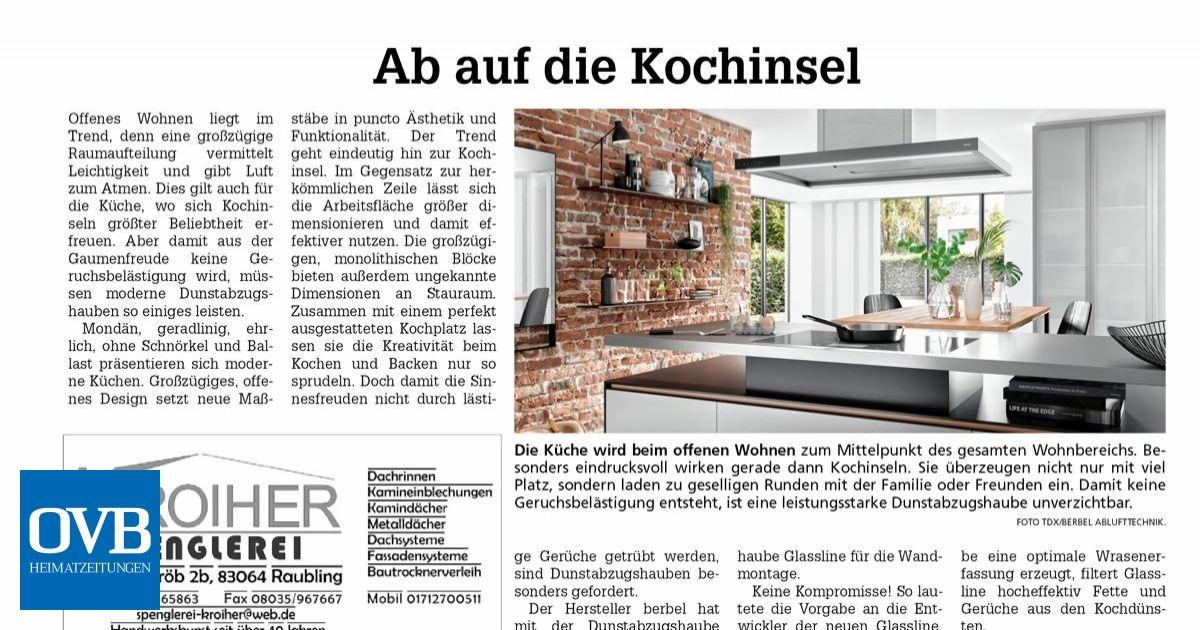 Ab Auf Die Kochinsel Ovb Heimatzeitungen