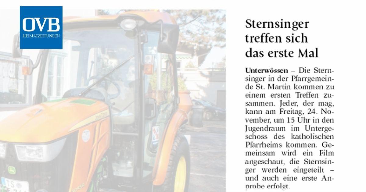 Sternsinger treffen sich das erste Mal - OVB Heimatzeitungen
