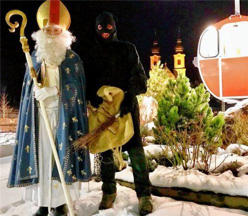 Nikolaus und Krampus waren unterwegs