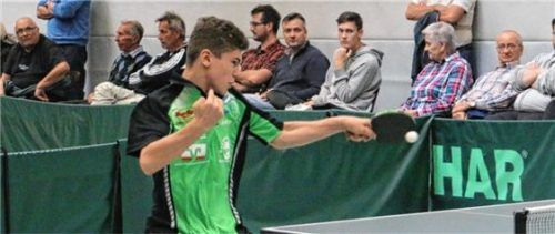 Felix Wetzel vom Regionalligisten SB DJK Rosenheim wurde bei den Herren im Doppel bayerischer Meister.