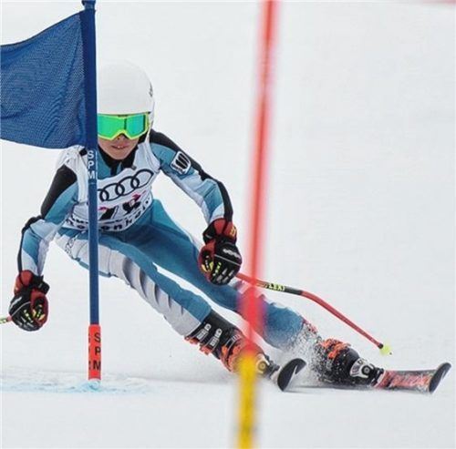 Max Macherey vom SC Aising-Pang siegte bei den Buben in der U10.Fotos Schmid
