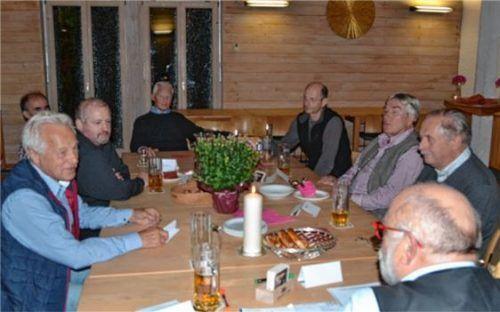 Mann bleibt unter sich: In Aschau hat sich jetzt eine reine Männergruppe gegründet. Foto re