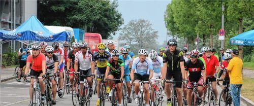 Dem Radsport frönen und die Landschaft genießen – RSV und SCAP als Veranstalter des Radmarathons laden zum 26. Mal zu dieser Rundfahrt ein.Foto  Archiv