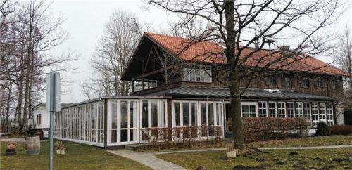 Die Seegaststätte in Ecking war Thema im Riederinger Gemeinderat.Foto  Kirchner