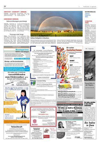 Seltene Farbspiele in Schnaitsee - OVB Heimatzeitungen