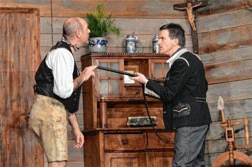 """Spritzig-witzig: Die Premiere von """"Deifi Sparifankerl"""" der Volksbühne St. Nikolaus produzierte Lachsalven und beste Laune beim Publikum.Foto Sieberath"""