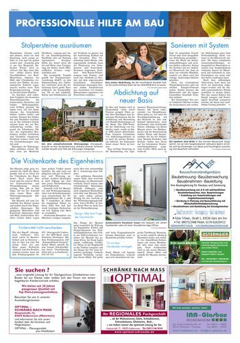 Fördermittel nicht verschenken - OVB Heimatzeitungen