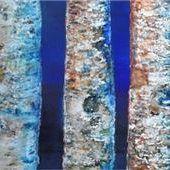 <p>Arbeit von Claudia Simon: Acryl auf Papier.</p>