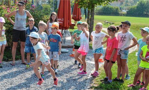Kinder-Olympiade in Söchtenau