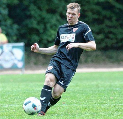 Marco Rosenzweig und der TSV Buchbach erwarten am heutigen Freitag den SV Heimstetten. Foto  Buchholz