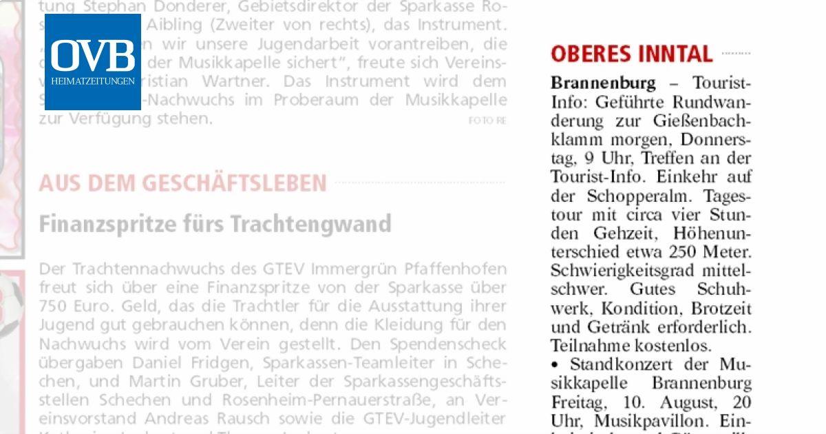 Oberes Inntal - OVB Heimatzeitungen