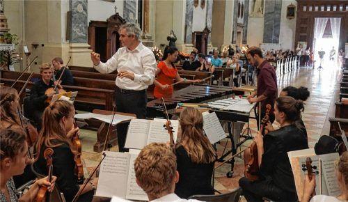 Im Konzert in der Kirche von Cascia wurden die geprobten Werke präsentiert.Foto  re