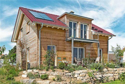 Häuser aus Holz erreichen eine hohe ökologische Qualität. Foto BDF/Beilharz