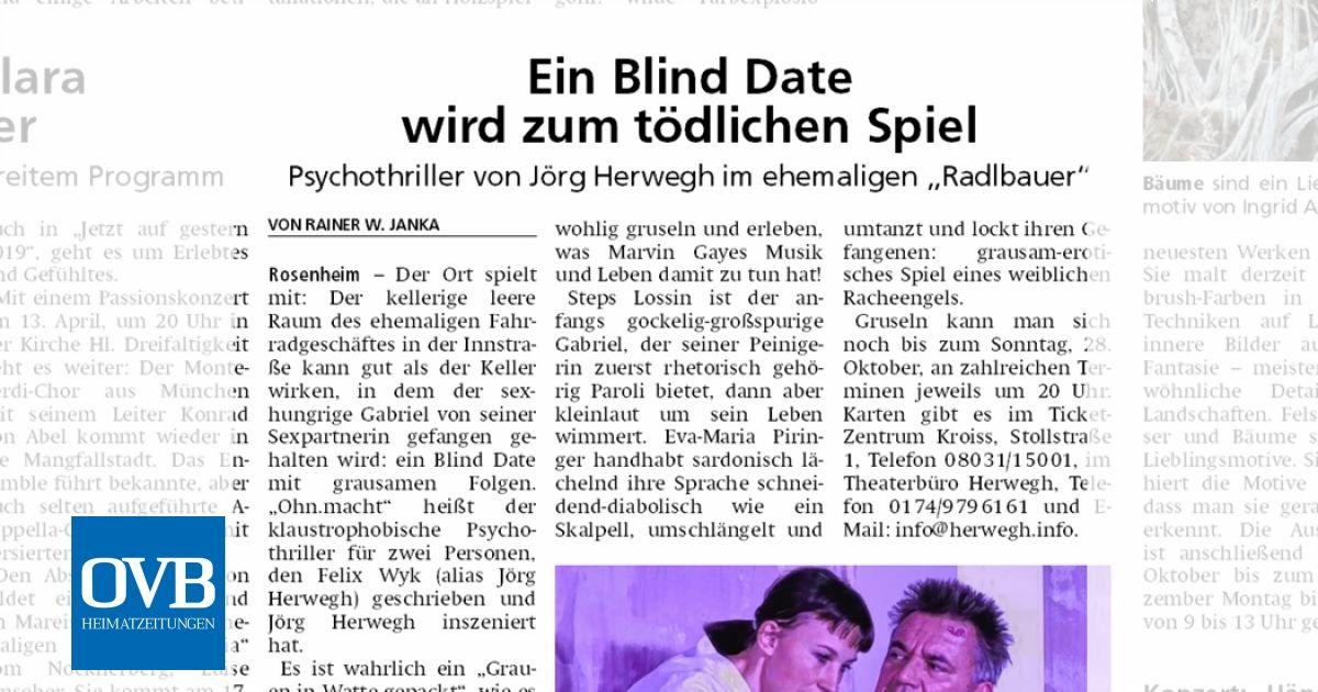 Oberbayerisches volksblatt online dating