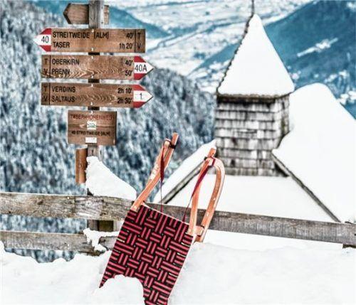 Winterwanderland – In Schennas Wandergebiet Hirzer locken auch im Winter Aktivtouren. Fotos  Tourismusverein Schenna/Klaus Peterlin