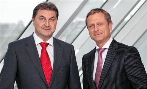 Karl Heinz Gruber und Michael Amerer Foto re