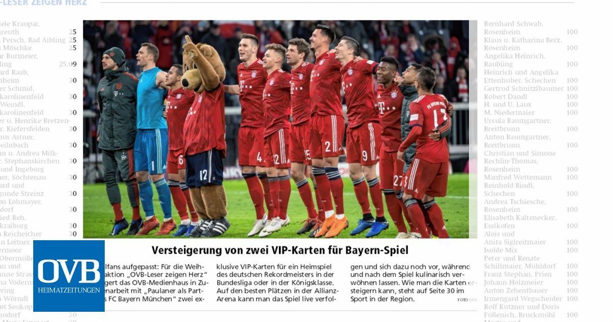 Karten Für Bayern Spiel