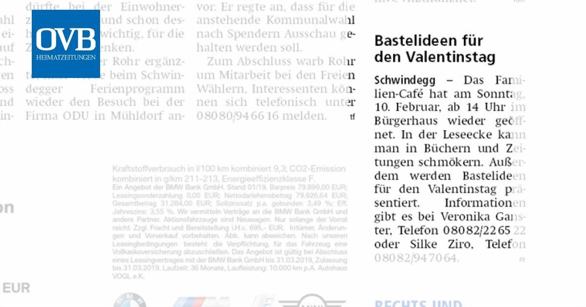 Bastelideen Fur Den Valentinstag Ovb Heimatzeitungen