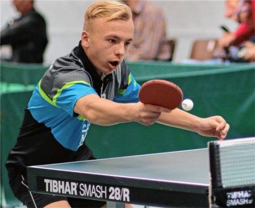 Maximilian Loof (SB/DJK Rosenheim) nahm vom bayerischen Top-Ten-Turnier wichtige Erkenntnisse und ein Ticket für das nächste Ranglistenturnier mit.Foto Erlich