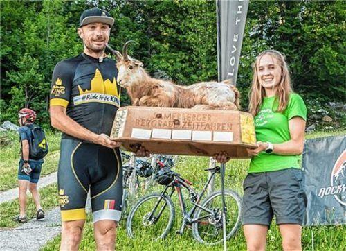 Die Sieger: Andreas Huber vom Chiemgau Team und Antonia Niedermaier vom Team Craft and Friends.