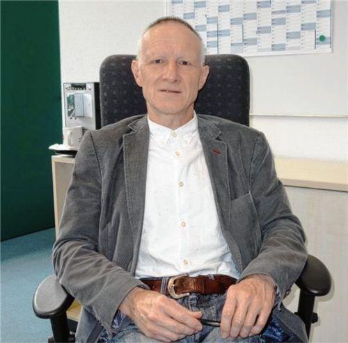 Ein gebürtiger Marquartsteiner ist der neue Leiter der Achental-Realschule, Christian Thoma.Foto giesen
