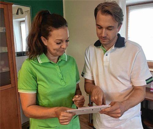 Christoph Habersetzer und seine Frau Silvia arbeiten künftig zusammen.Foto maier