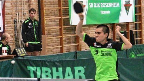 Layan Neumann verlässt zur Rückrunde den SB/DJK Rosenheim und wechselt zum TV Miesbach.Foto Erlich