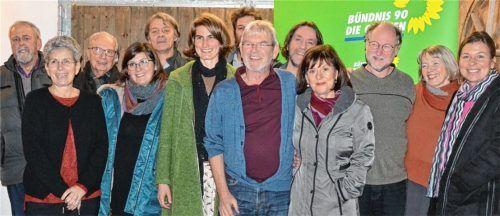 """Sie wollen andere Schwerpunkte in der Arbeit des Marktgemeinderates setzen: die Kandidaten der neuen Liste """"Wahlvorschlag Grüne/Unabhängige. Foto  Schwarz"""