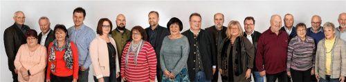 Die 20 Kandidaten der SPD Rohrdorf-Thansau gehen mit einem vielseitigen Wahlprogramm in den Wahlkampf. Foto RE