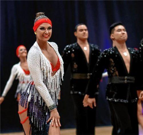 Die Tänzerinnen und Tänzer des Wasserburger TC Inn-Casino heizen am Wochenende, 8./9. Februar, den Tanzsportfans in der Badria-Halle ein.