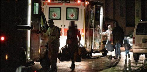 In einer Nacht- und Nebelaktion wurde die Siegsdorfer Familie ins Krankenhaus gebracht.Foto Lamminger