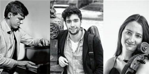 Kammermusik ist die Leidenschaft der drei ausgezeichneten Musiker (von links) Thomas Schuch (Klavier), Thomas Reif (Violine) und Katarina Schmidt (Cello). Foto re