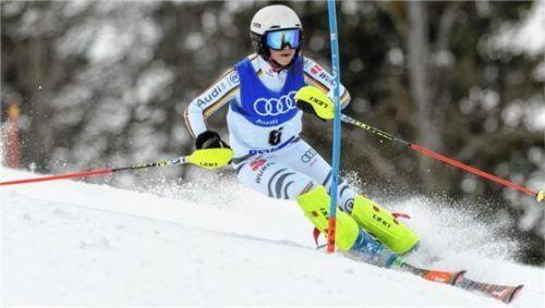 Malena Kretz vom TSV Tengling zeigte bei den Bayerischen Schülermeisterschaften in Garmisch-Partenkirchen hervorragende Leistungen. Foto  Paul