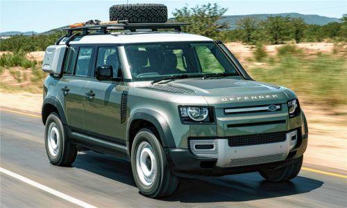 Der neue Land Rover Defender unterscheidet sich nicht nur technisch, sondern auch in Sachen Handling und Komfort deutlich von den Vorgängermodellen. Foto ampnet/Jaguar Land Rover