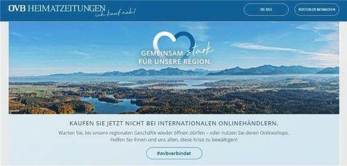 Die OVB Heimatzeitungen bieten ein Online-Branchenbuch für lokale Händler an. Foto re