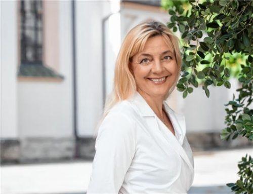 """""""Gott geht immer mit"""", sagt die Gemeindereferentin Hannelore Maurer.Foto Re"""