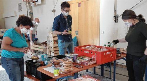 Zum letzten Mal liefert die Tafel heute die Lebensmittel an die Kunden. Foto Rieger