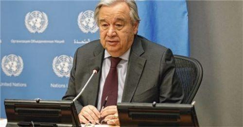 UN-Generalsekretär António Guterres warnt vor Kriegen in Corona-Zeiten.Foto picture alliance/Xie E/XinHua/dpa