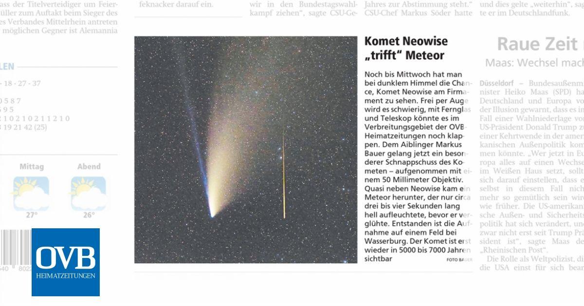 Komet Neowise Rlp
