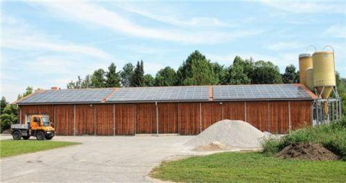 Der Bauhof der Gemeinde Schwindegg: Hier hätte bei einer gemeinsamen Lösung der neue, gemeinsame Bauhof für Buchbach und Schwindegg entstehen sollen.Foto  Sutherland