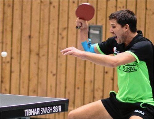 SBR-Kapitän Wolfgang Hundhammer ist optimistisch, eine gute Rolle in der kommenden Saison zu spielen.Foto Erlich