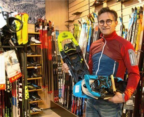 Andreas Kaiser vom gleichnamigen Sportgeschäft. Fotos Berger