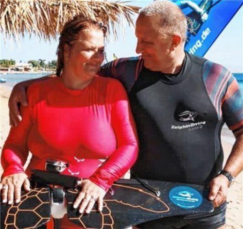 Das Ehepaar Hoda hat sich ins südägyptische Dahab verliebt und will für immer dort heimisch werden.