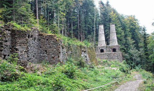"""Das Industriedenkmal """"Altes Zementwerk"""" in Litzldorf soll nicht mehr touristisch beworben werden. Foto  Strim"""