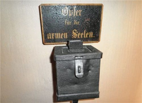 Der Opferstock: Begehrtes Objekt bei dreisten Kirchenräubern. Foto Biermaier
