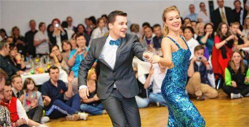 Die Boogie-Woogie-Tänzer Andreas Aigner und Elsa Köck sind sechsfache österreichische Meister. Foto privat