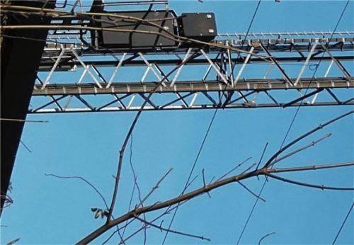 Dies ist ein veralteter Mobilfunkturm. Foto Hoffmann