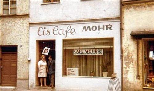 Eröffnung 1962: Bis 1994 war das Eiscafé ein Publikumsmagnet in Wasserburg.