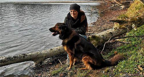 Lea Lauxen hat mit Bruno rund um Mühldorf viele Touren selbst erkundet. Fotos Hoffmann