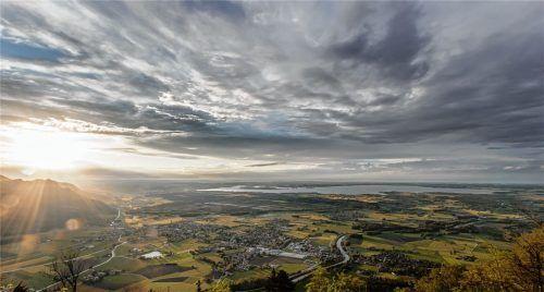 Neben guter Luft sind ein gepflegtes Ortsbild und ein touristisches Angebot Kriterien für den Titel. Foto Michael Loider